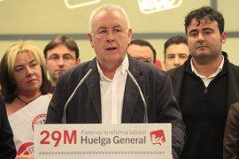 """Cayo Lara: """"El 29 de marzo hay que parar este país porque tenemos razones"""""""