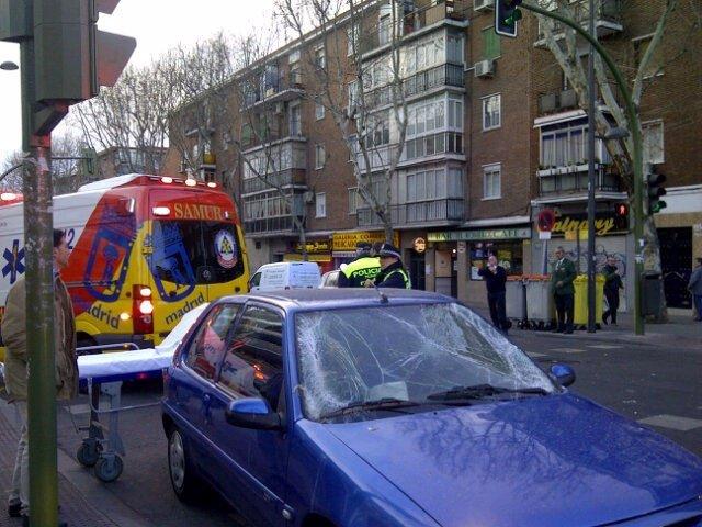 Atropello A Dos Taxistas