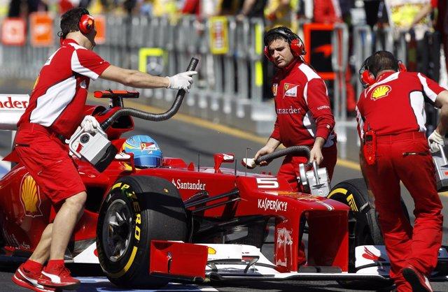 Fernando Alonso, En Australia