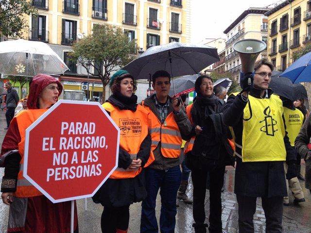 Parad El Racismo No A Las Personas