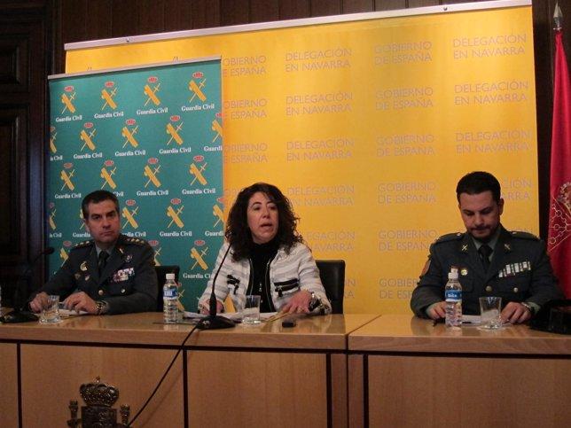 José Luis Pérez, Carmen Alba Y Óscar Esteban.