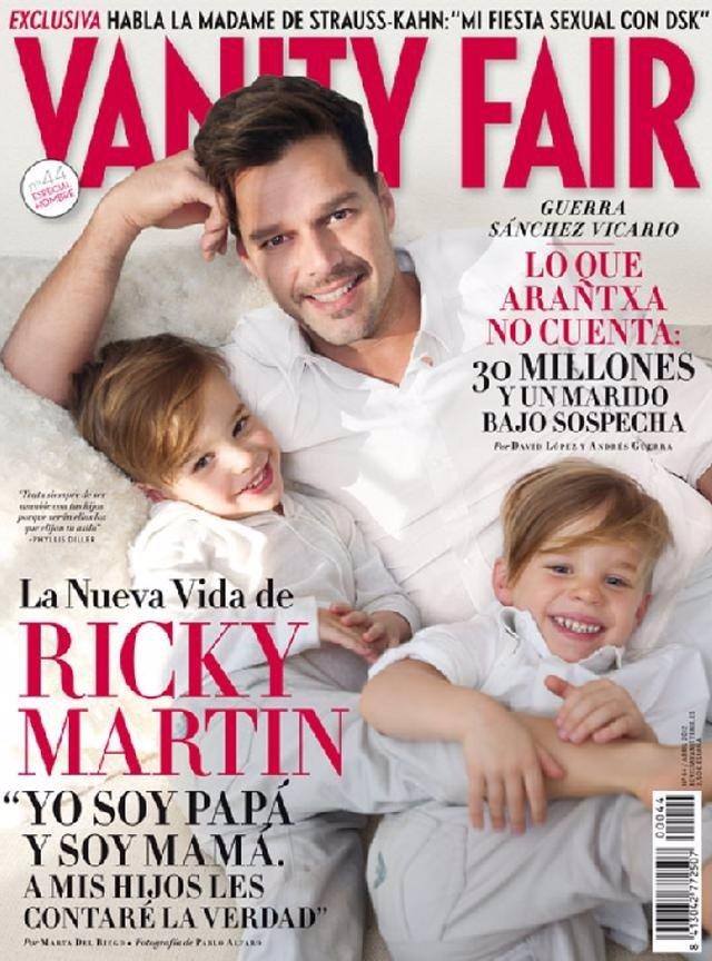 Ricky Martin En La Portada De 'Vanity Fair'. Abril 2012