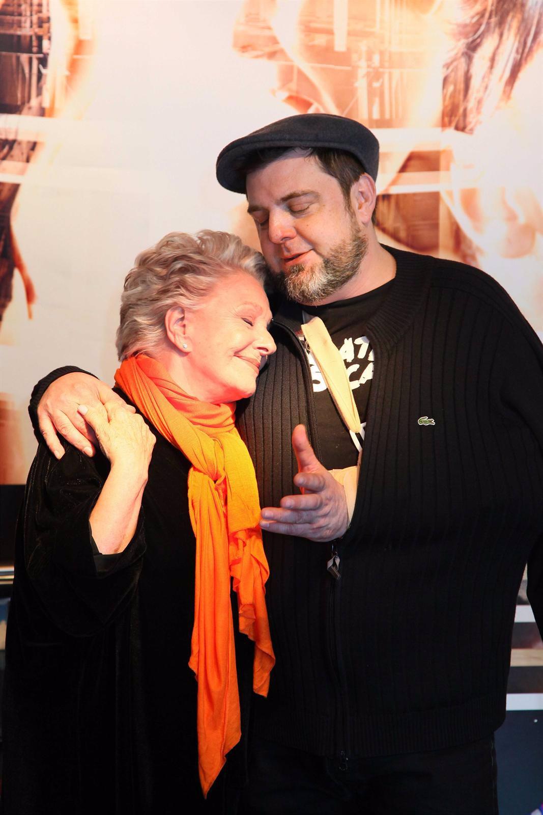 Lola Herrera Con Su Hijo Daniel Dicenta