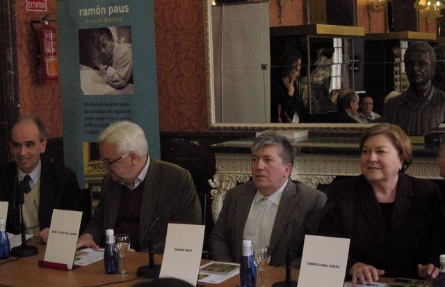 Presentación Del Disco 'Piano Works' De Ramón Paus En Madrid.
