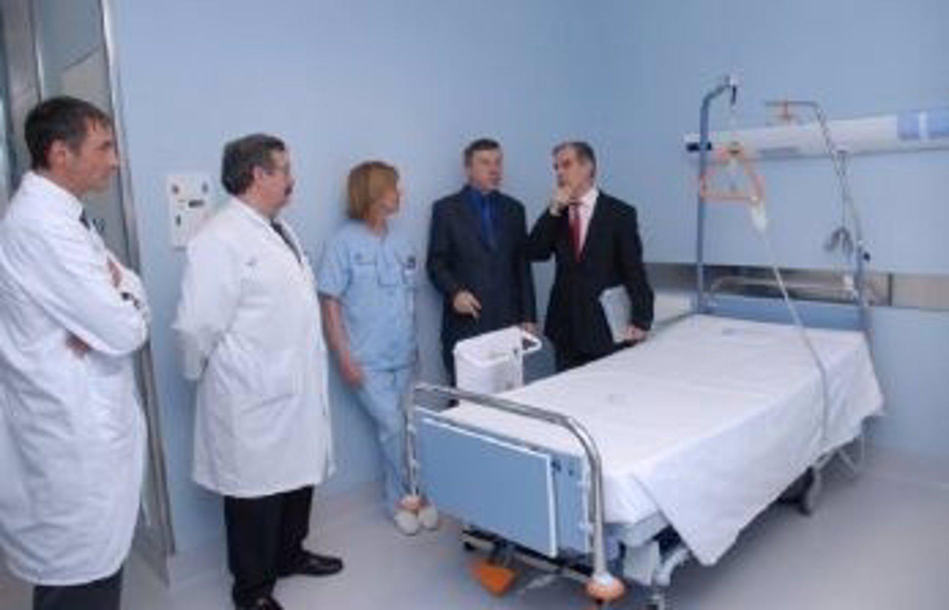 Hospital de Cruces inaugura la planta 4 D, tras una reforma que ha ...