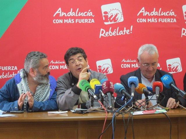 Valderas, Entre Sánchez Gordillo Y Cayo Lara