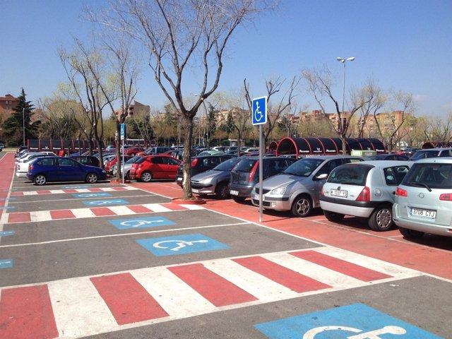 Aparcamiento Accesible Centro Comercial Parquesur