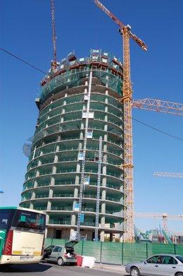 La Torre Pelli En Construcción.