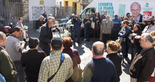 Álvarez-Ossorio En Un Acto Electoral En Sevilla