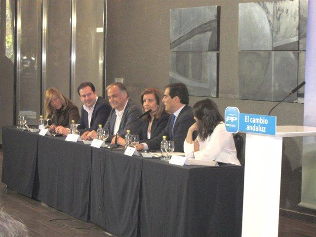 Acto Electoral Del PP En Córdoba Con La Ministra Fátima Báñez Y González Pons