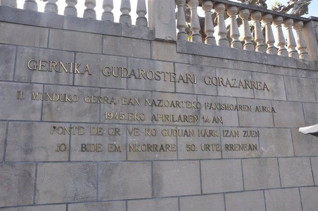 MONUMENTO BATALLÓN GERNIKA