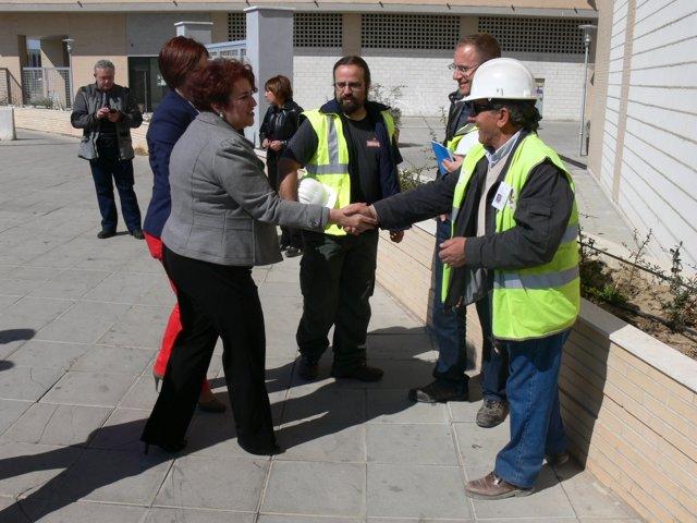 2 NP. PSOE Granada Cerrillo Maracena, Metro Infraestructuras 20120322