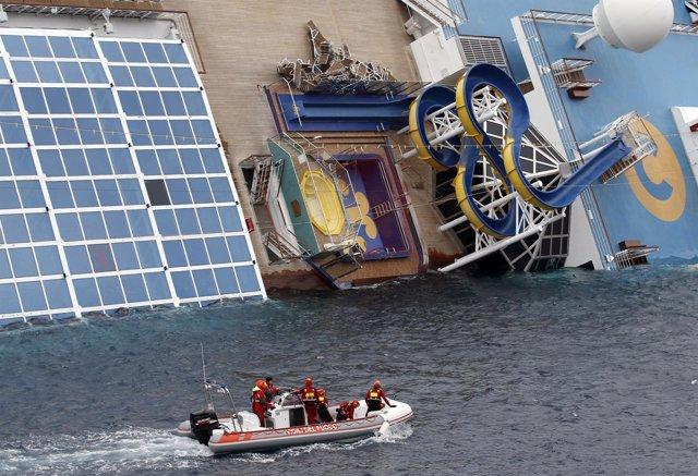 Crucero Naufragado 'Costa Concordia'