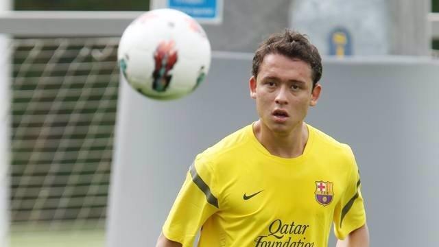 El Blaugrana Keirrison, Cedido Al Coritiba