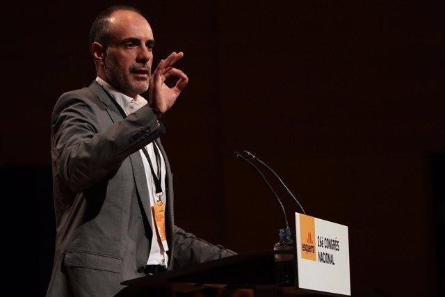 Joan Ridao En El Congreso De ERC
