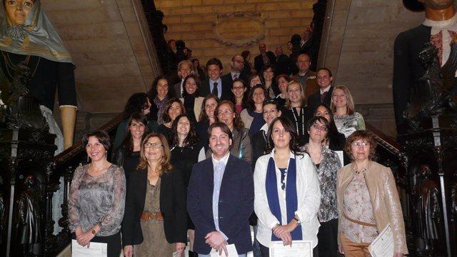 Los 22 Nuevos Funcionarios Del Ayuntamiento De Palma