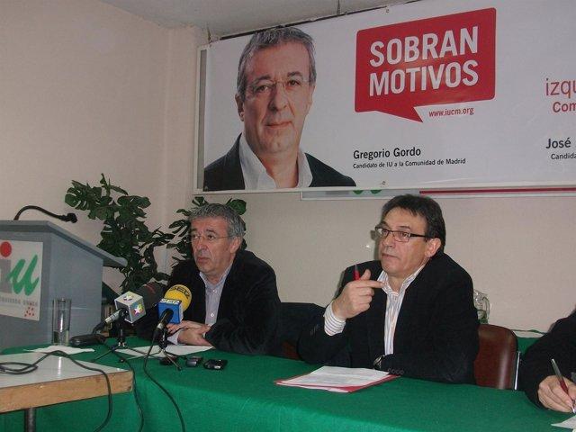 Gregorio Gordo En Rueda De Prensa