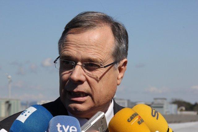 El Director Del Aeropuerto De Girona, Lluís Sala