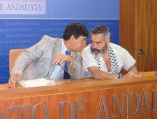 Diego Valderas Y Juan Manuel Sánchez Gordillo