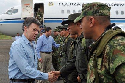 El Ejército colombiano mata a 32 guerrilleros de las FARC en un operativo en Meta