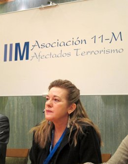 Presidenta De La Asociación 11-M Afectados Por El Terrorismo, Pilar Manjón