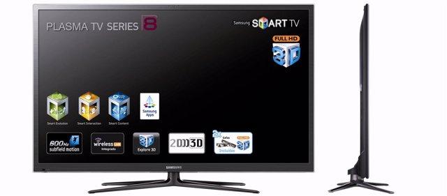 Televisión Televisor Plano Samsung Smart TV