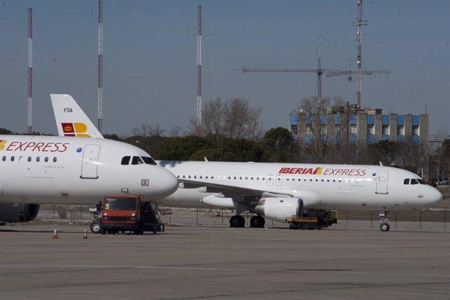 Aviones Iberia Express