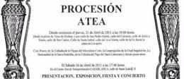 Cartel De La 'Procesión Atea'