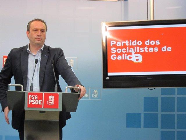 El Secretario De Organización Del Psdeg, Pablo García