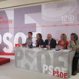 Mesa Del XII Congreso Del PSC-PSOE