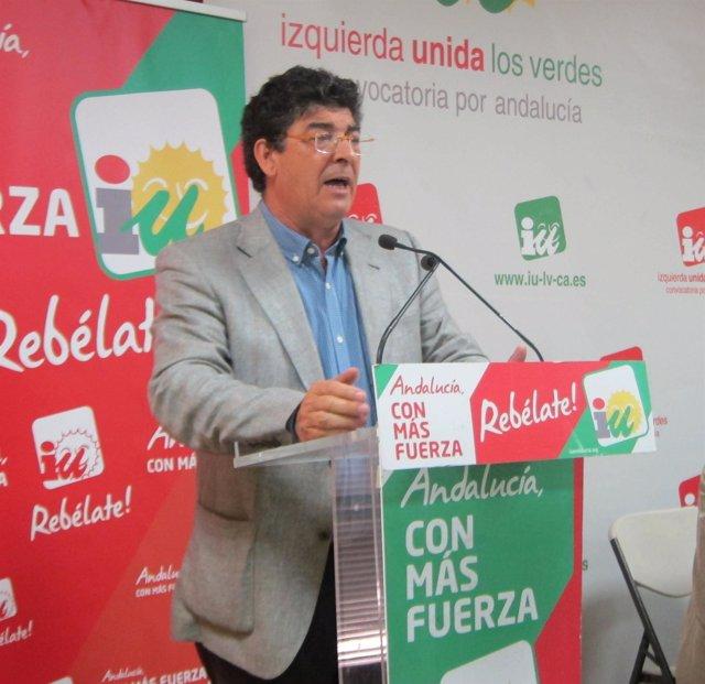 Diego Valderas, Hoy Ante La Ejecutiva De IULV-CA