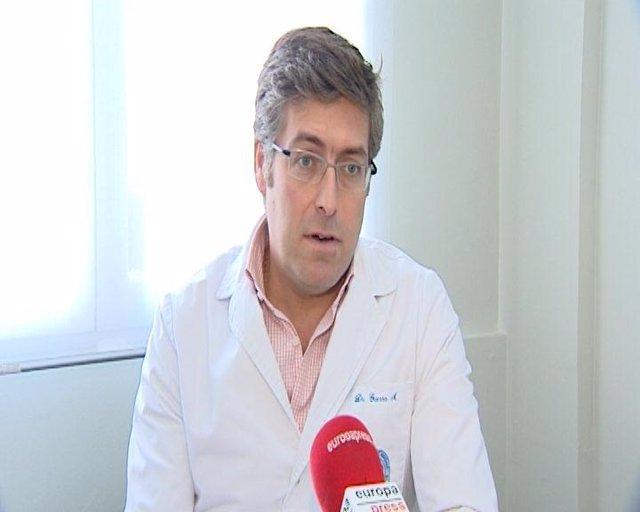Director Del Centro Médico-Quirúrgico De Enfermedades Digestivas, Gonzalo Guerra