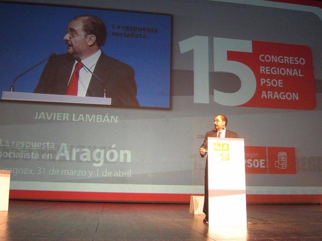 Javier Lambán Es Ya El Nuevo Secretario Del PSOE-Aragón