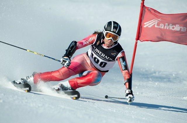 La Esquiadora Española Carolina Ruiz
