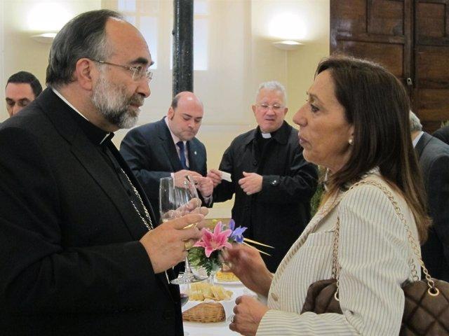 Jesús Sanz Montes Conversa Con Inmaculada González