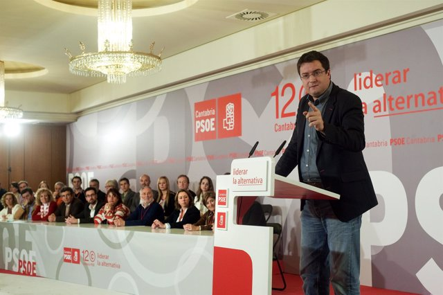 Oscar López En La Clausura Del Congreso Del PSOE