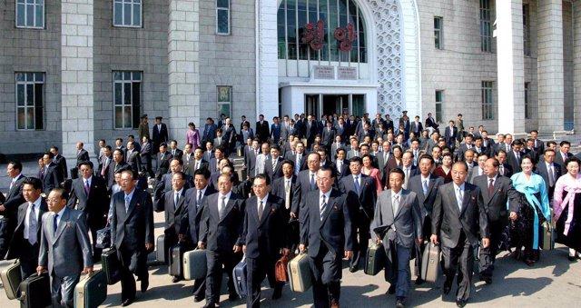 Reunión del Partido de los Trabajadores de Corea del Norte