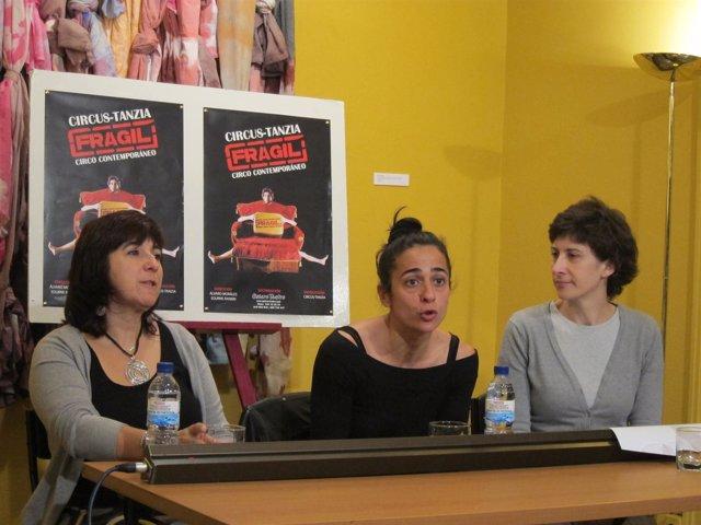 Belén Álvarez, Maribel Martínez Y Teresa Lasheras.