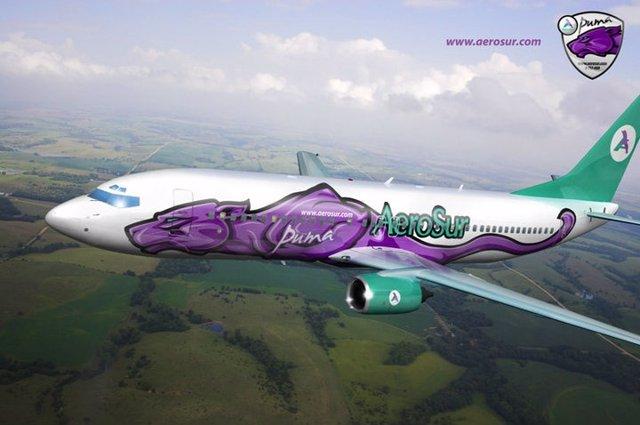Avión Aerosur