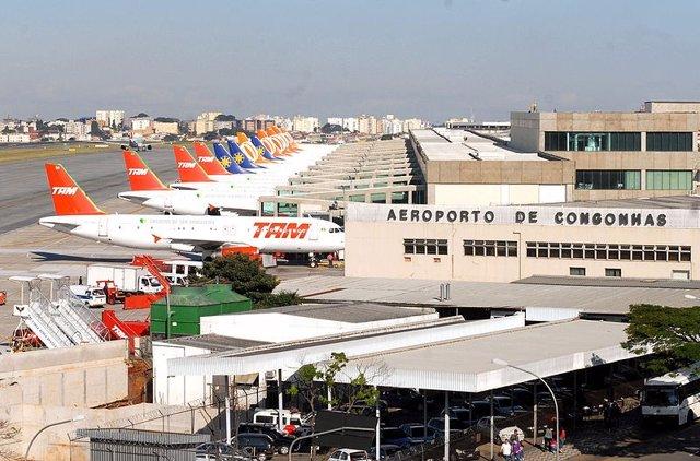 Aeropuerto De Congonhas, Sao Paulo