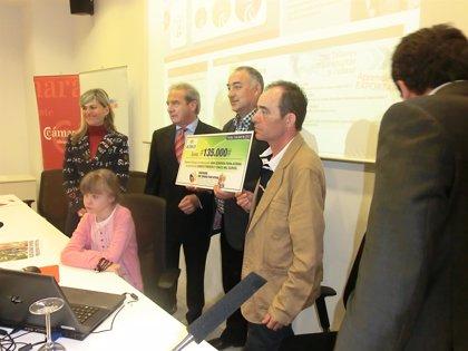 'Tapones para una vida' recauda 135.000 euros para una niña enferma del corazón