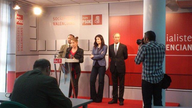 Rodríguez Piñero En Rueda De Prensa En Blanqueries