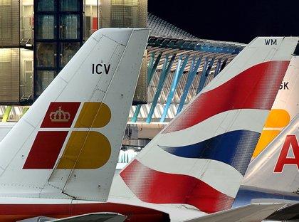 IAG reduce un 1,2% sus pasajeros hasta marzo