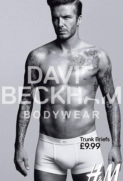 La polémica del bulto de David Beckham en el anuncio para H&M llega a su fin