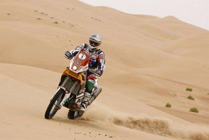 Coma recupera el liderato en el Abu Dhabi Desert Challenge
