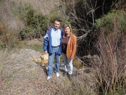 La oferta turística de Chilluévar (Jaén) aumenta con el acondicionamiento de la senda del río Cañamares