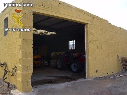 Detenidas dos personas por un presunto delito de robo en un almacén agrícola en Calatorao