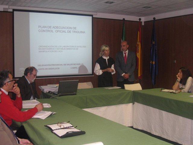 La Delegada Provincial De Salud, María José Rico.