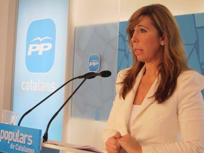 Camacho será la única candidata a liderar el PP catalán tras el congreso de mayo