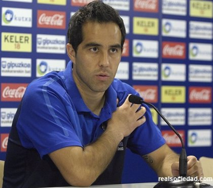 """Fútbol.- Bravo (Real Sociedad): """"Tendríamos que tener más consistencia"""""""